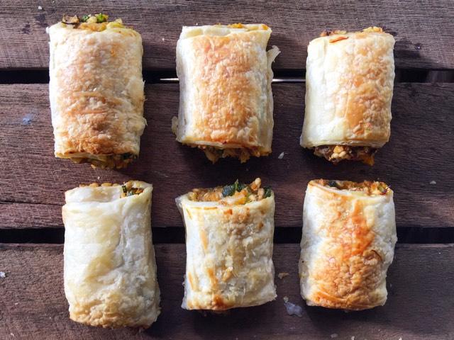 Vegetarian 'Sausage' Rolls