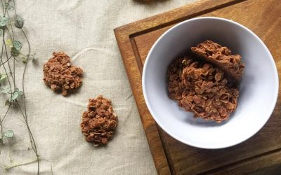 Chocolate Nut Butter & Oat Cookies