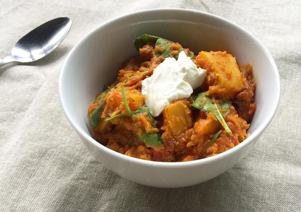 Pumpkin & Red Lentil Dahl