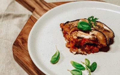 Sweet Potato & Eggplant Lasagna